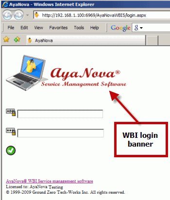 Video overview of WBI web browser interface
